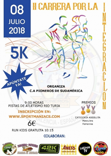 375 carrera por la integracion - CARRERA POR LA INTEGRACION VALENCIA 2018