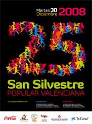 25 aniversario de la San Silvestre popular valenciana