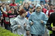 Más de 2.500 personas desafiaron al mal tiempo para completar la tercera prueba del Circuito Ruralcaja