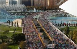 El Maratón Divina Pastora Valencia a paso de récord