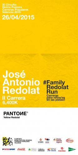 """II Carrera José Antonio Redolat """"Una carrera, dos distancias"""""""