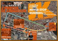 2ª Carrera Never Stop Running  -Nunca te rindas-