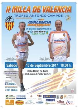 II Milla de Valencia Trofeo Antonio Campos