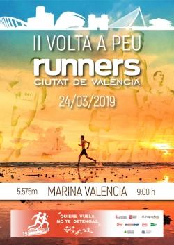 Abiertas las inscripciones a la II Volt a Peu Runners Ciutat de València