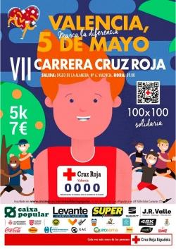 La VII Carrera Cruz Roja València unirá deporte, salud y solidaridad