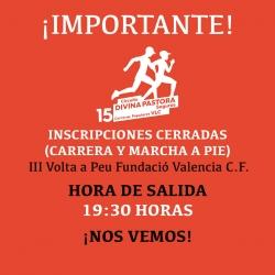 Agotadas inscripciones a la III Volta a Peu Fundació Valencia C.F