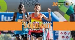 El Medio Maratón Valencia vende los 20.000 dorsales disponibles para su 30ª edición