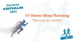 Abierto el periodo de inscripción para la carrera popular Never Stop Running en su formato virtual
